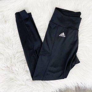 Adidas Black Tennis Tight Athletic Leggings Sz Small